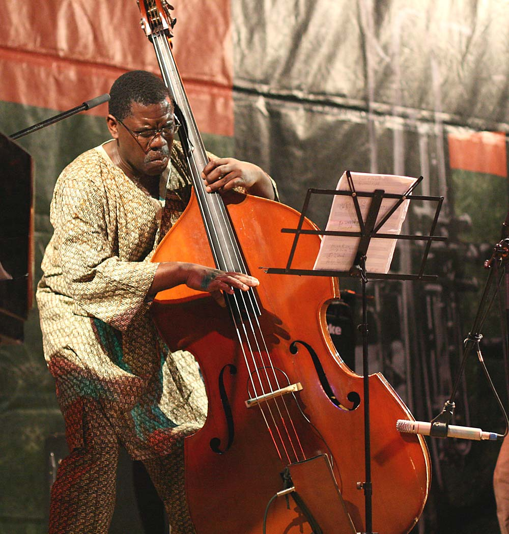 Hillard Greene double bass Apr 2008 Bucuresti Romania