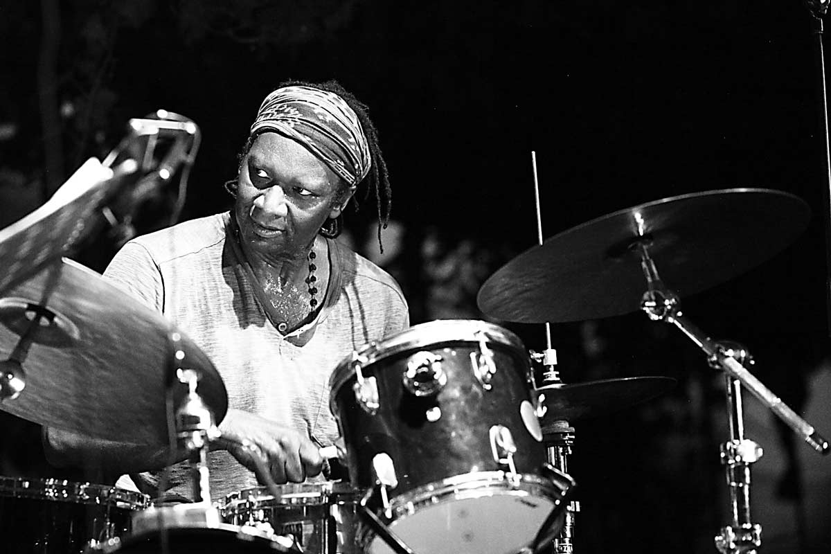 Konfrontationen 2015 Hamid Drake - drums