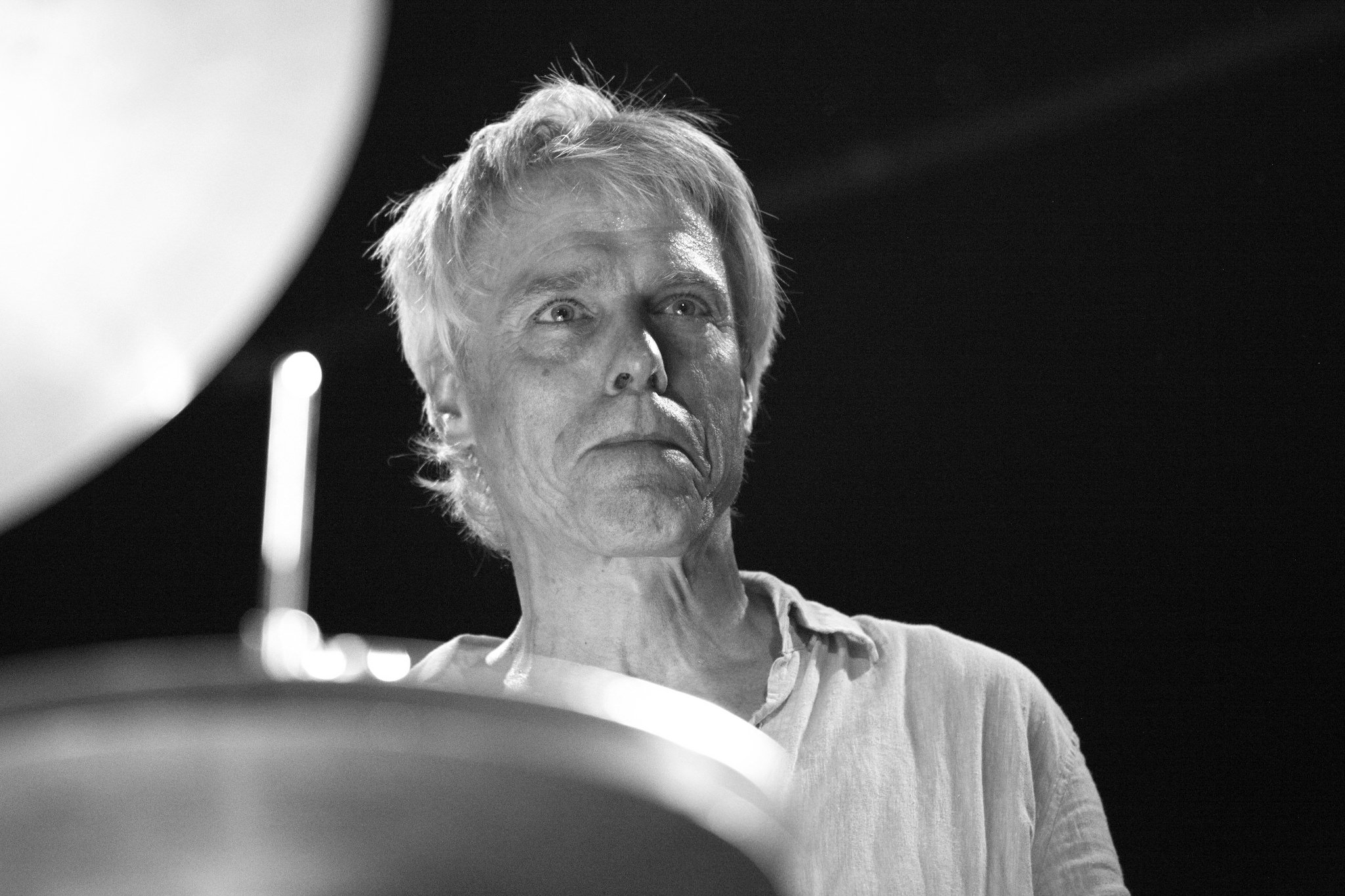 Gerry Hemingway (drums) at Unlimited 30 (festival)