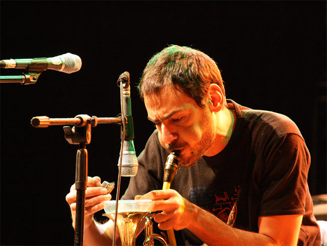Mazen Kerbaj at Jazz and More Festival